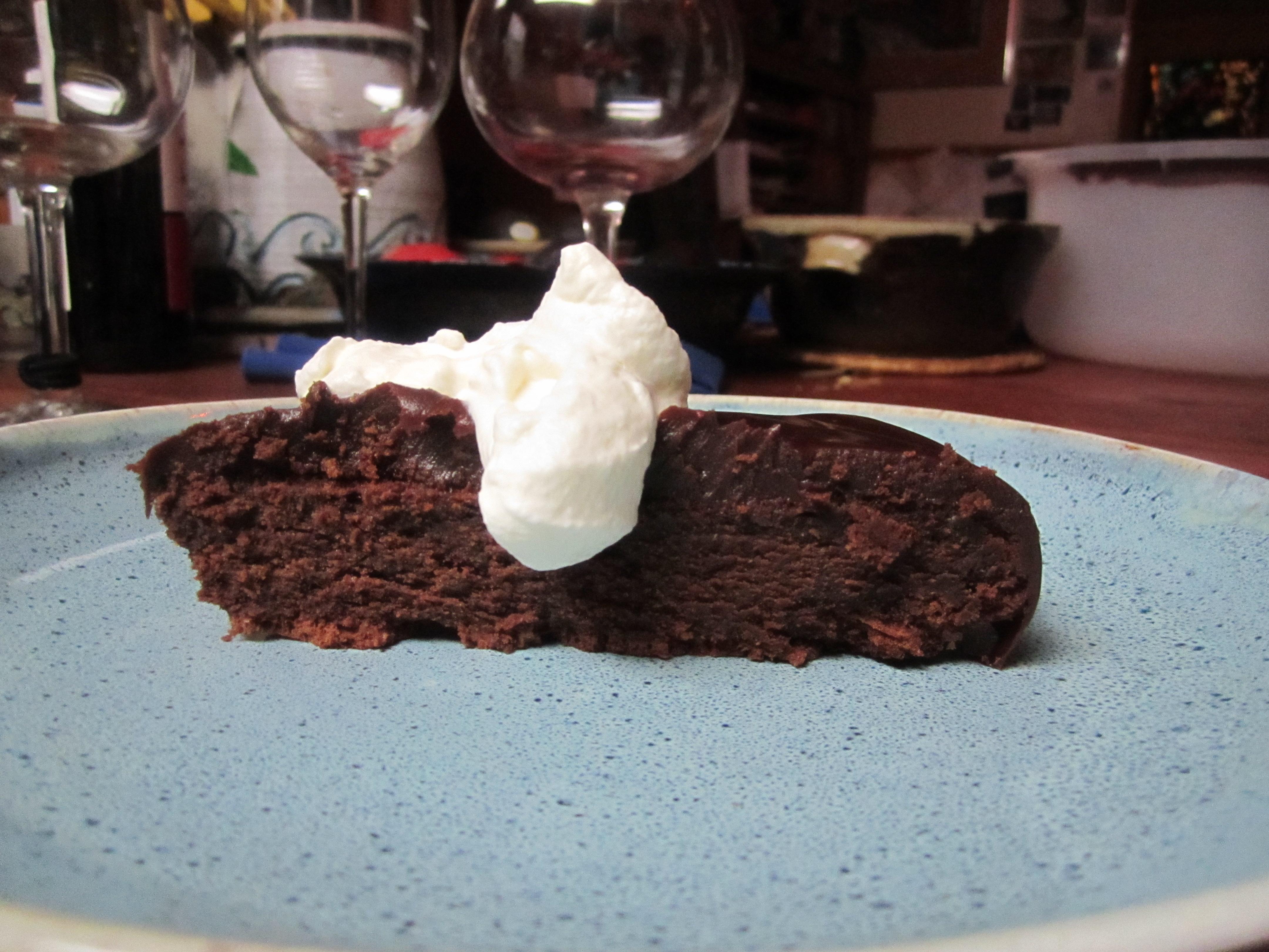 Alton Brown Flourless Chocolate Cake