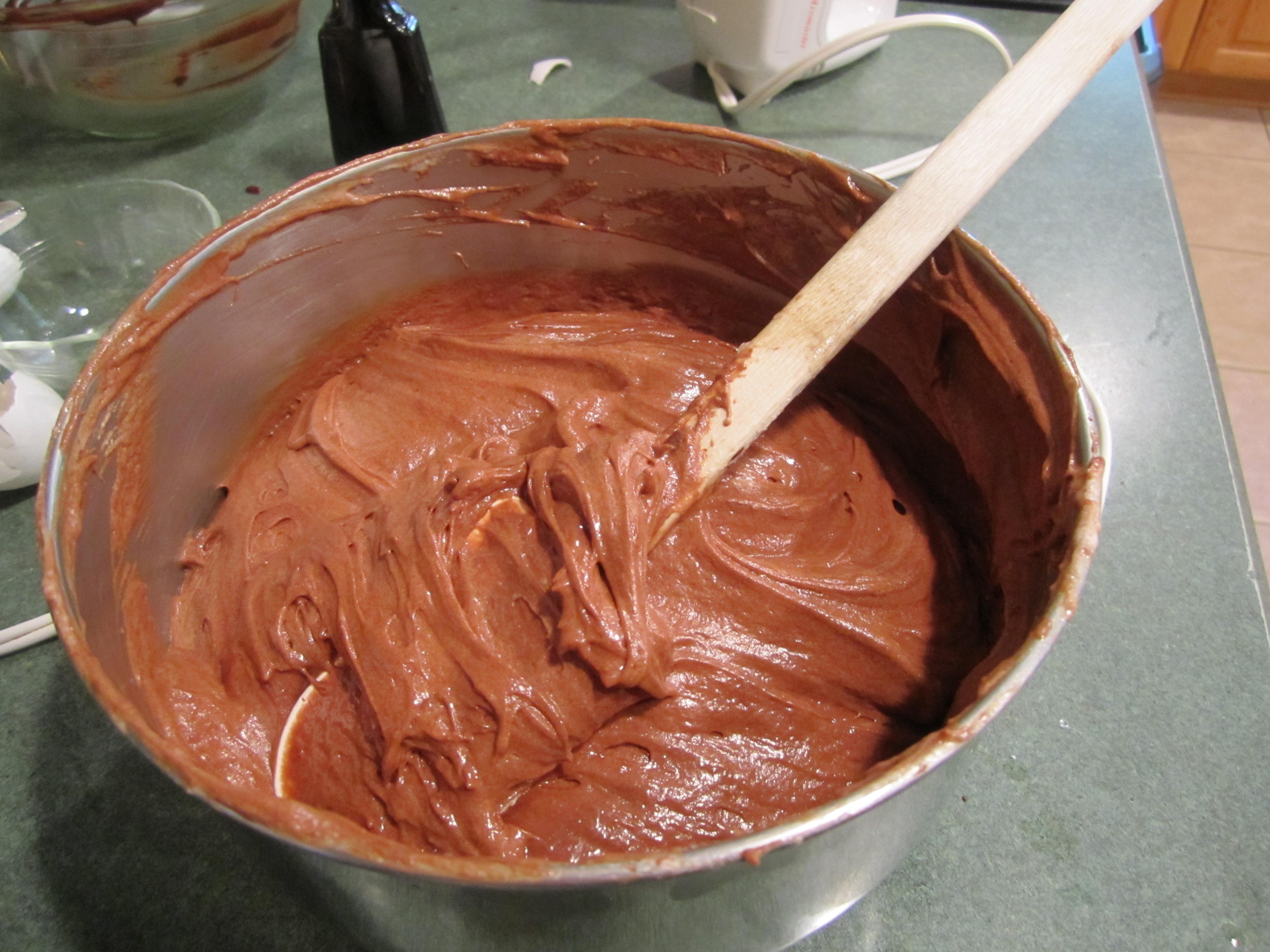 Chocolate Flourless Cake With Chocolate Glaze Perfecting