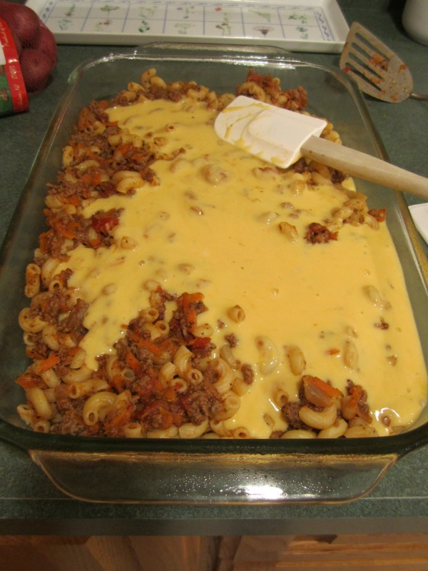 Beef and Cheese Casserols 010