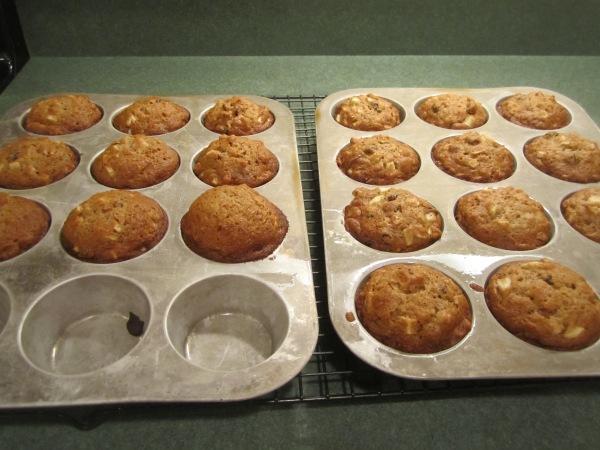 Raw Apple Muffins 009