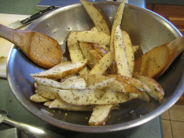 Oven Fried Potatoes 008