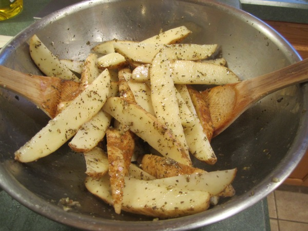 Oven Fried Potatoes 009