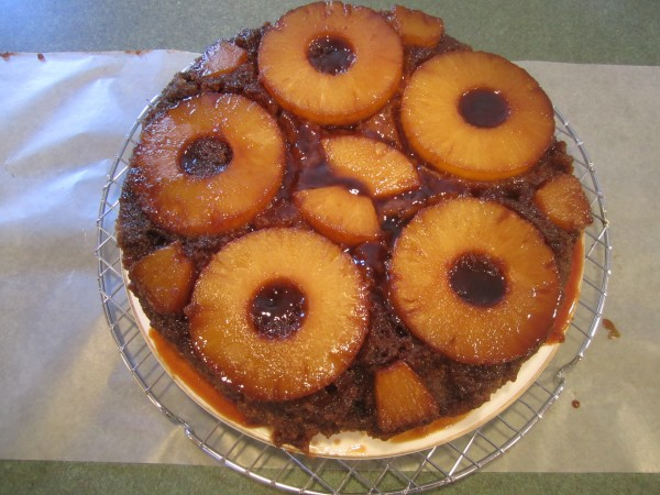 Pinapple Upside Down Cake 021