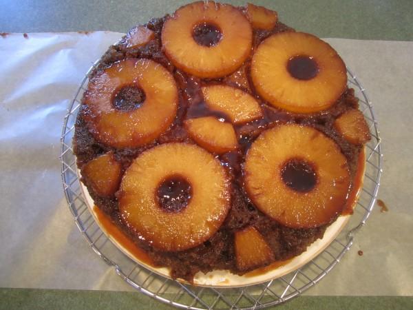 Pinapple Upside Down Cake 021
