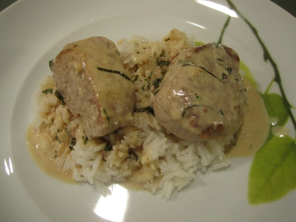 Pork in Mustard Cream Sauce 010