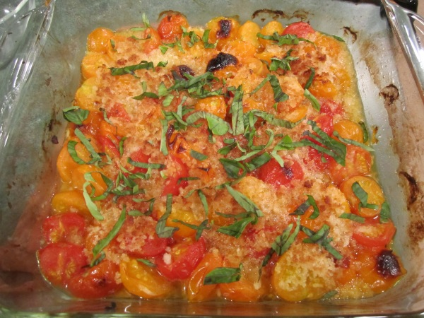 Tomato and Basil Bake 007